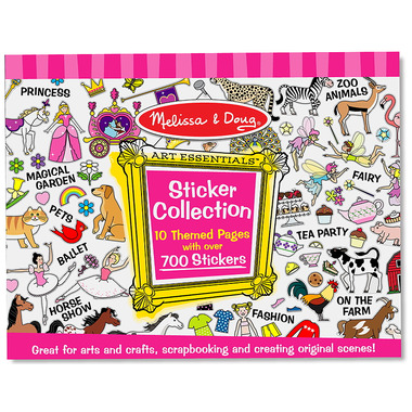 Melissa & Doug Sticker Collection Pink