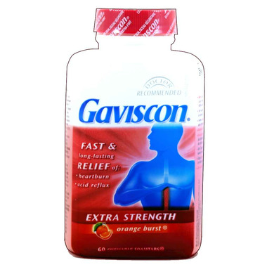 Buy Gaviscon Extra Strength Chewable Tablets At Well Ca