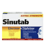 Sinutab Sinus Extra Strength Daytime & Nightime Convenience Pack