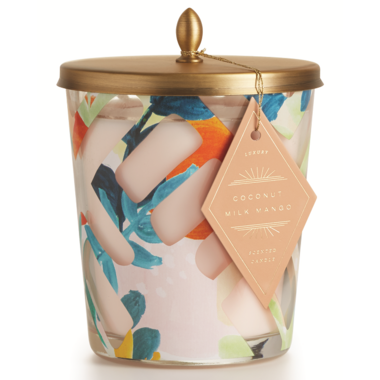 Illume Coconut Milk Mango Cameo Jar Candle