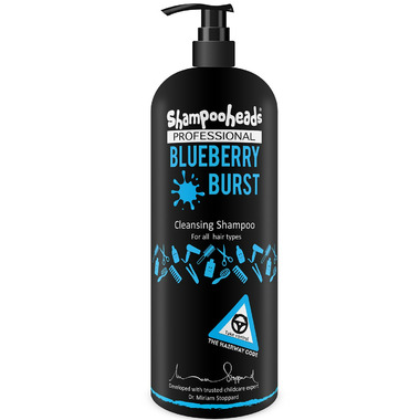 Shampooheads Professional Blueberry Burst Cleansing Shampoo