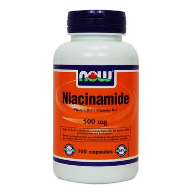 Niacinamide 500 mg side effects