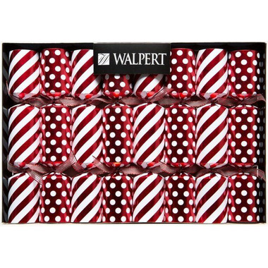 Walpert Festive Crackers in Candy Stripes