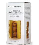 Grate Britain British Cheddar Cheese Biscuits