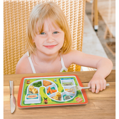 Fred and Friends Dinner Winner Tray Eat, Play, Win