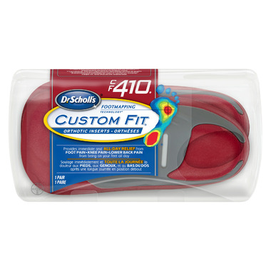 Dr. Scholl\'s Custom Fit Orthotic Inserts CF 410