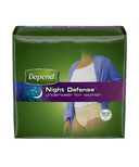 Depend Night Defense Underwear for Women X Large