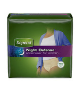 Depend Night Defence Underwear for Women Large