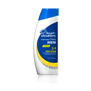 Head & Shoulders for Men & Deep Clean 2-in-1 Shampoo