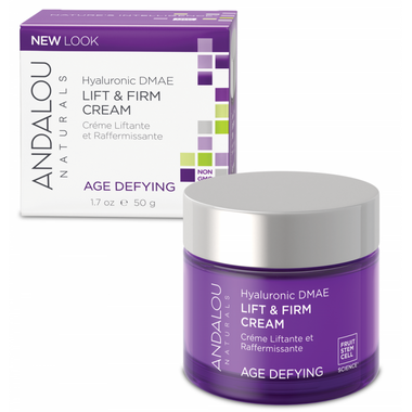 ANDALOU naturals Age Defying Hyaluronic DMAE Lift & Firm Cream