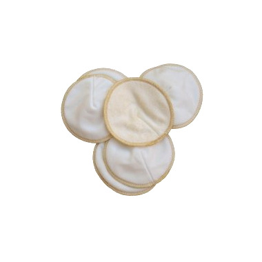 Mother ease Contoured Reusable Stay Dry Nursing Pads
