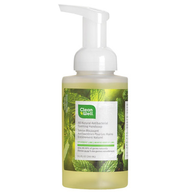 CleanWell Spearmint Lime Hand Soap