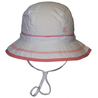 Calikids Quick-Dry Bucket Hat Extra Wide Brim White