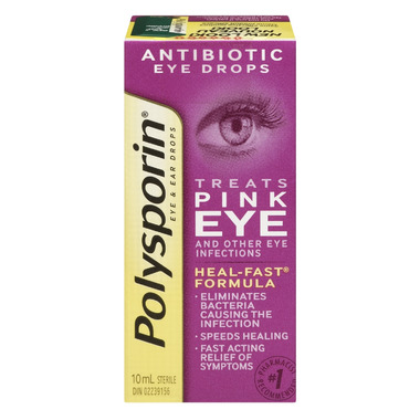 Polysporin Antibiotic Eye & Ear Drops