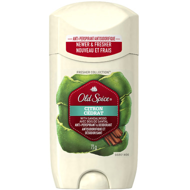 Old Spice Fresher Collection Citron Invisible Solid Antiperspirant