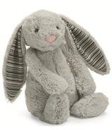 Jellycat Bashful Blake Bunny Stripe