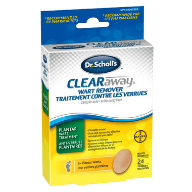 Dr. Scholl\'s Clear Away Plantar Wart Remover System