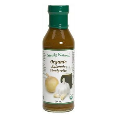 Simply Natural Organic Balsamic Vinaigrette Dressing