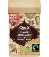 Cha's Organics Ginger Ground