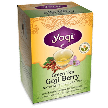 Yogi Tea Green Tea Goji Berry