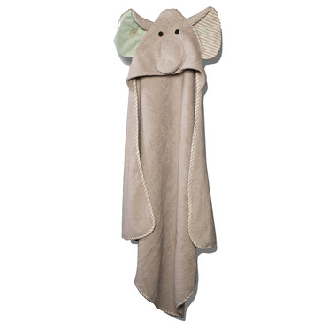 Zoocchini Baby Towel Elle the Elephant