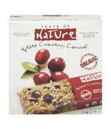 Taste of Nature Organic Food Bars 5-Pack