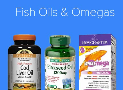 Fish Oils & Omegas
