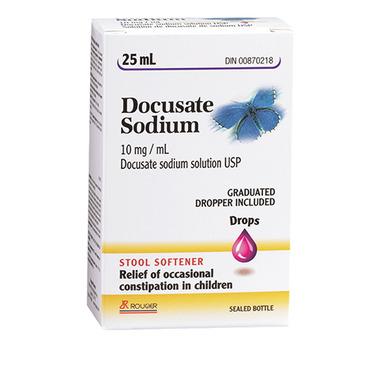 Rougier Docusate Sodium Drops Children