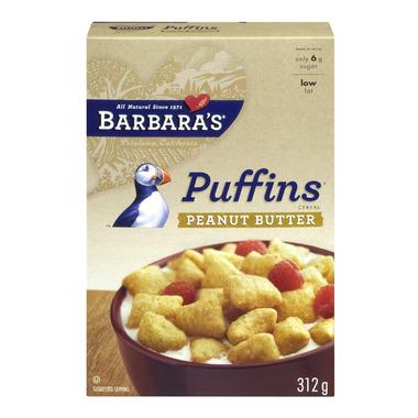 Barbara\'s Peanut Butter Puffins