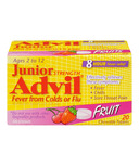 Junior Strength Advil Fever from Colds or Flu Chewables