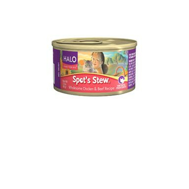 Halo Spot\'s Stew For Cats Wholesome Chicken & Beef Recipe