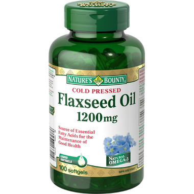 Nature\'s Bounty Flaxseed Oil