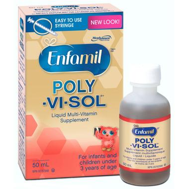 Enfamil Poly-Vi-Sol Liquid Multi-Vitamin Supplement