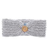 Beba Bean Knit Headband Grey