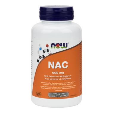 NOW Foods NAC with Selenium & Molybdenum