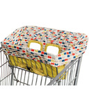 Skip Hop Take Cover Shopping Cart & High Chair Cover Dots