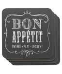 Now Designs Coaster Set Chalkboard