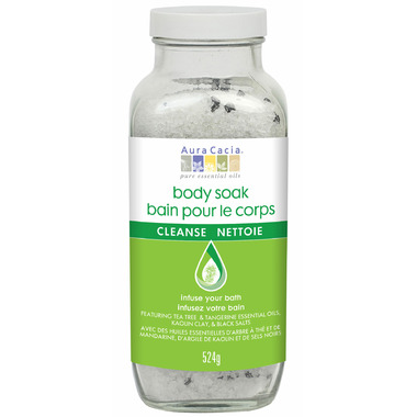 Aura Cacia Cleanse Bath Body Soak
