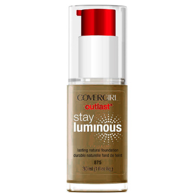 CoverGirl Outlast Stay Luminous Foundation Soft Sable (875)