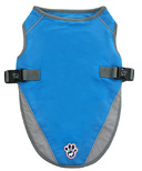Canada Pooch Chill Seeker Cooling Vest in Aqua Size 16