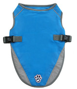 Canada Pooch Chill Seeker Cooling Vest in Aqua Size 14