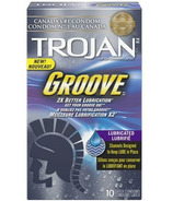 Trojan Groove Lubricated Condoms