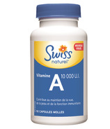 Swiss Natural Sources Vitamin A Capsules