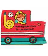 Melissa & Doug K's Kids Soft Activity Book Firefighter Fred To The Rescue