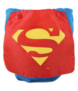 Bumkins DC Comics Superman Snap-In-One Cloth Diaper with Cape