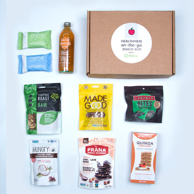 Well.ca Healthy(er) On-The-Go Snack Box