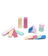 Tegu Magnetic Wooden Block Set - Blossom