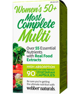 Webber Naturals Women's 50+ Most Complete Multi