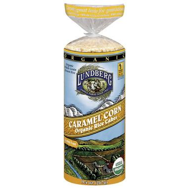 Lundberg Organic Caramel Corn Rice Cakes