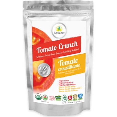 Ecoideas Organic Raw Tomato Crunch